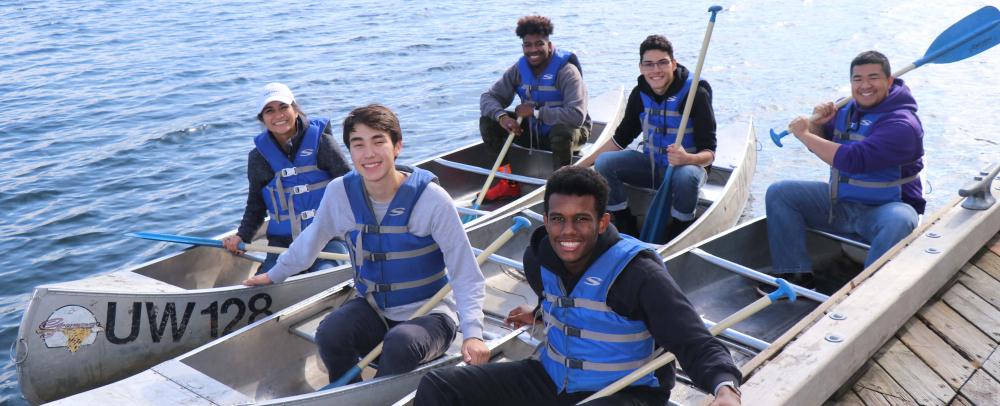BI Canoe Trip